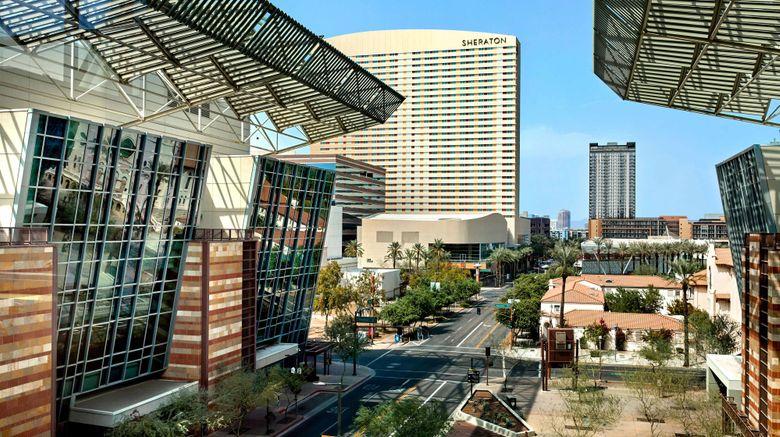 "Sheraton Phoenix Downtown Exterior. Images powered by <a href=""http://www.leonardo.com"" target=""_blank"" rel=""noopener"">Leonardo</a>."