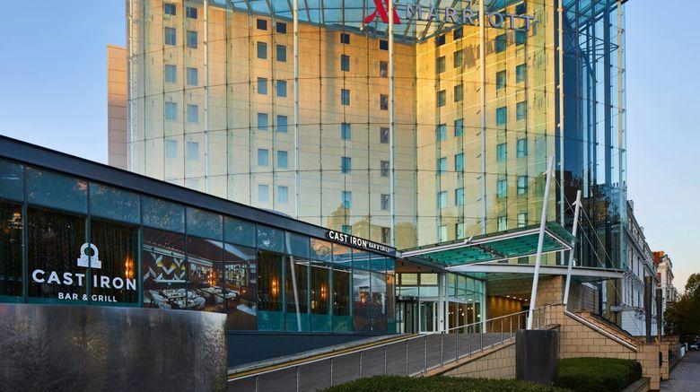 "London Marriott Hotel Kensington Exterior. Images powered by <a href=""http://www.leonardo.com"" target=""_blank"" rel=""noopener"">Leonardo</a>."