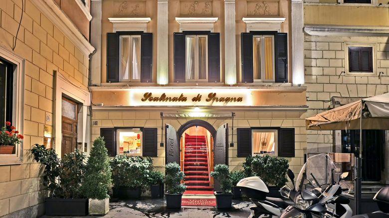 """Scalinata di Spagna Hotel Exterior. Images powered by <a href=""""http://www.leonardo.com"""" target=""""_blank"""" rel=""""noopener"""">Leonardo</a>."""