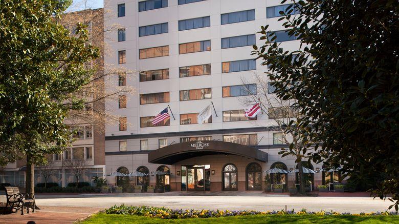 "Melrose Georgetown Hotel Exterior. Images powered by <a href=""http://www.leonardo.com"" target=""_blank"" rel=""noopener"">Leonardo</a>."