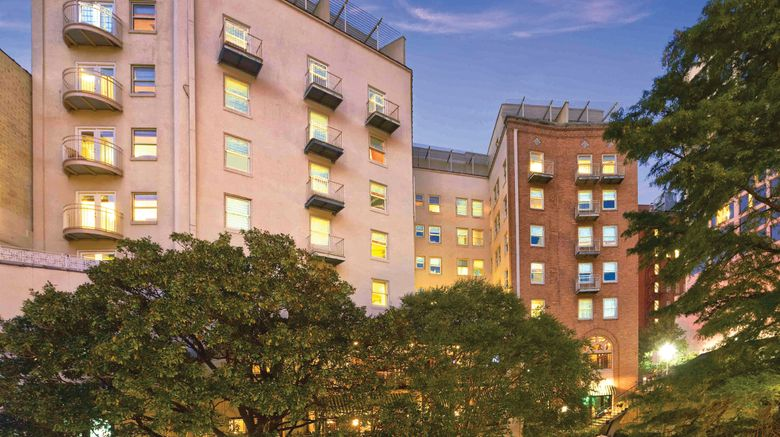 "Wyndham Riverside Suites Exterior. Images powered by <a href=""http://www.leonardo.com"" target=""_blank"" rel=""noopener"">Leonardo</a>."