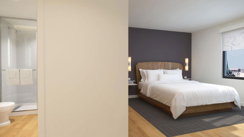 "Element Atlanta Midtown Room. Images powered by <a href=""http://www.leonardo.com"" target=""_blank"" rel=""noopener"">Leonardo</a>."
