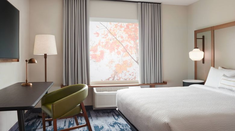 "Fairfield Inn  and  Suites Louisville Room. Images powered by <a href=""http://www.leonardo.com"" target=""_blank"" rel=""noopener"">Leonardo</a>."