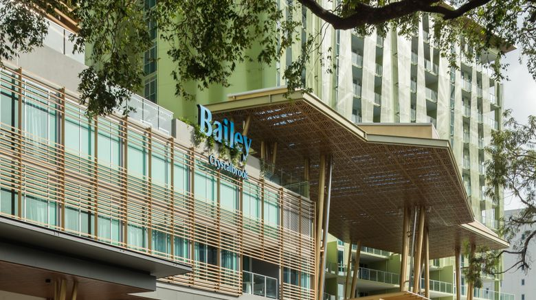 """Bailey, a Crystalbrook Collection Hotel Exterior. Images powered by <a href=""""http://www.leonardo.com"""" target=""""_blank"""" rel=""""noopener"""">Leonardo</a>."""