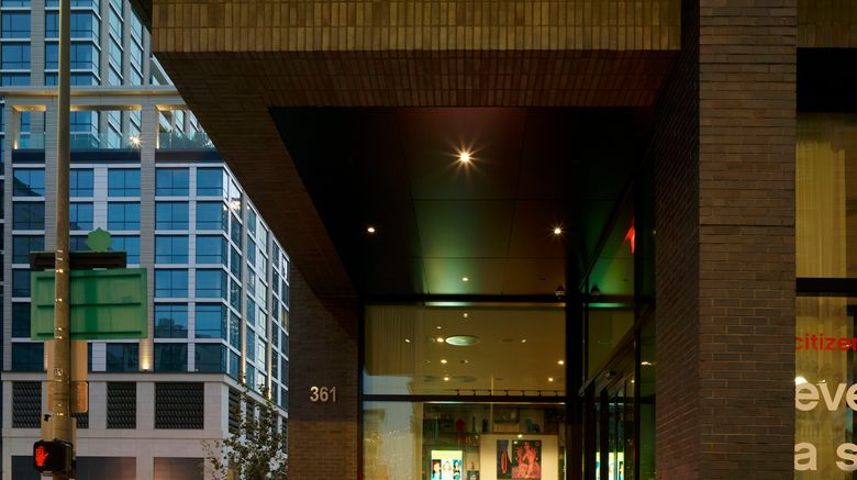 """citizenM Los Angeles Downtown Exterior. Images powered by <a href=""""http://www.leonardo.com"""" target=""""_blank"""" rel=""""noopener"""">Leonardo</a>."""