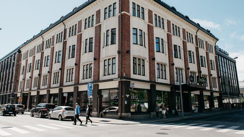 """Puijonsarvi Original by Sokos Hotel Exterior. Images powered by <a href=""""http://www.leonardo.com"""" target=""""_blank"""" rel=""""noopener"""">Leonardo</a>."""