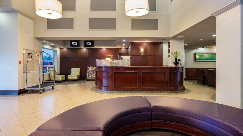 "Sandman Hotel Vancouver Airport Lobby. Images powered by <a href=""http://www.leonardo.com"" target=""_blank"" rel=""noopener"">Leonardo</a>."