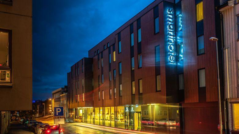 "Smarthotel Tromso Exterior. Images powered by <a href=""http://www.leonardo.com"" target=""_blank"" rel=""noopener"">Leonardo</a>."