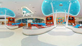 """<b>Universal's Cabana Bay Beach Resort Restaurant</b>. Virtual Tours powered by <a href=""""https://iceportal.shijigroup.com/"""" title=""""IcePortal"""" target=""""_blank"""">IcePortal</a>."""