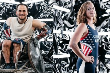Chuck Aoki and Melissa Stockwell Named as Paralympic Flag Bearers