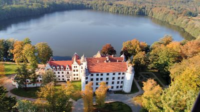Hotel Podewils Castle in Krag