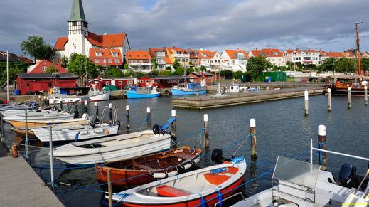 Ronne, Bornholm Island, Denmark