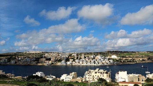 Qawra, Malta Island, Malta