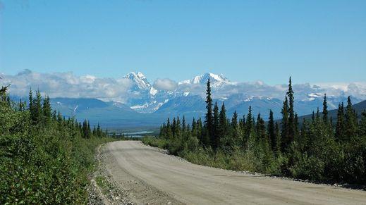 Alaska Highway, Alaska