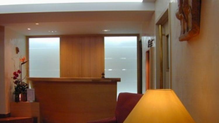 Hotel Le Glacier Lobby