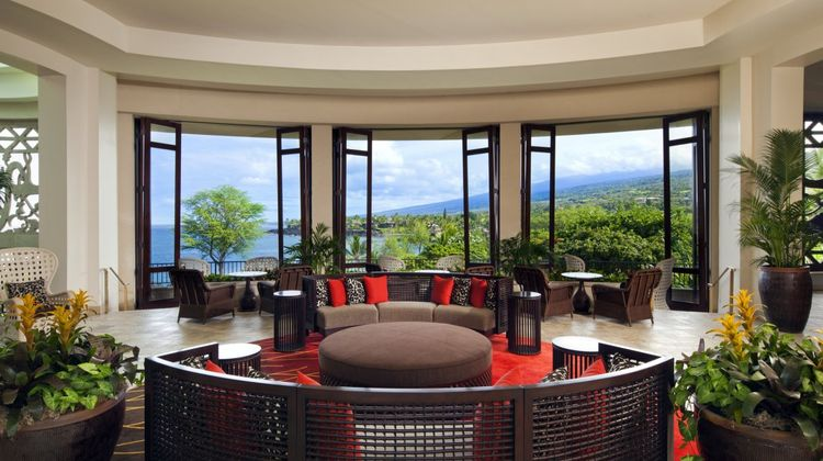 Sheraton Kona Resort & Spa Keauhou Bay Lobby