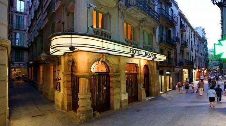 Hotel Nouvel, Barcelona Exterior