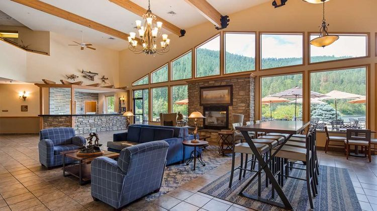 Best Western Lodge at River's Edge Lobby