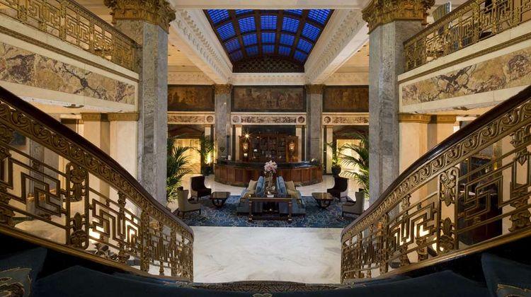 The Seelbach Hilton Louisville Lobby