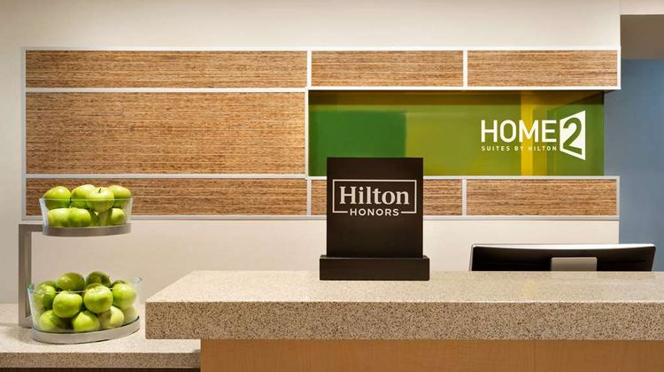 Home2 Suites by Hilton Joliet/Plainfield Lobby