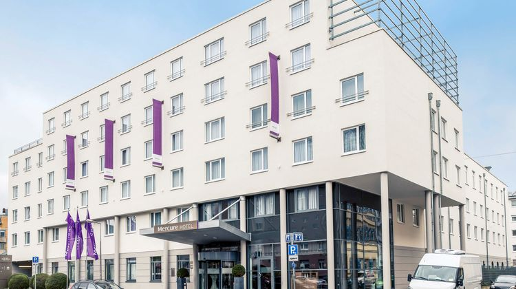 Mercure Hotel Mannheim am Rathaus Exterior