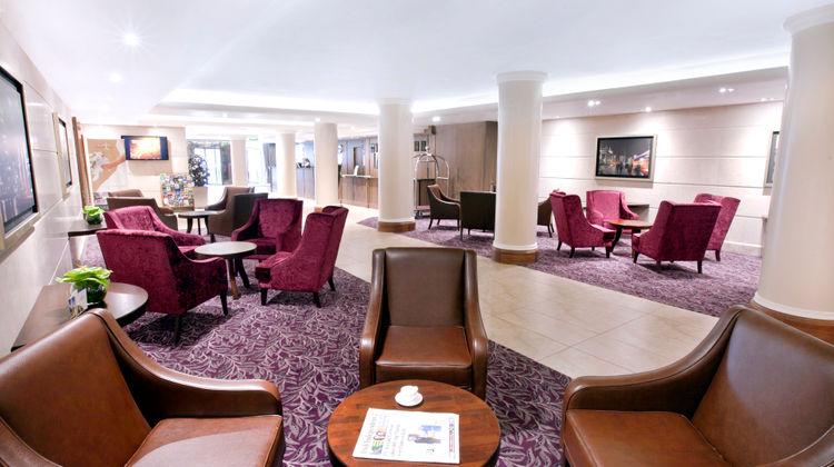Academy Plaza Hotel Lobby