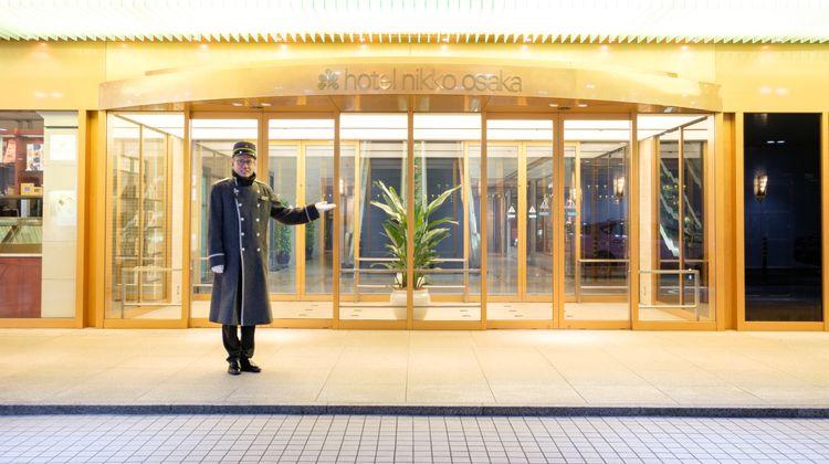 Hotel Nikko Osaka Exterior