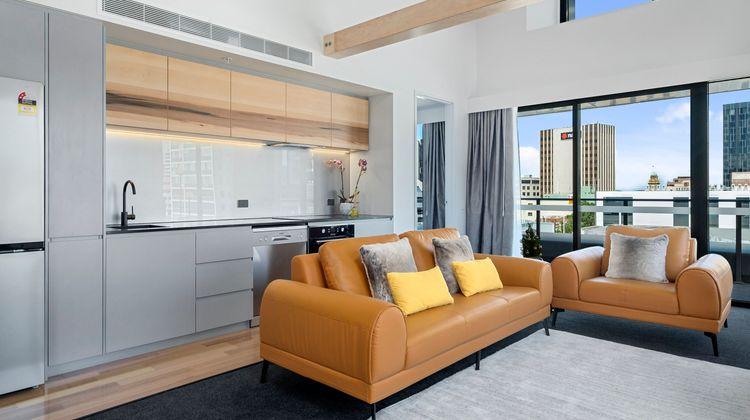 Hobart City Apartments Room