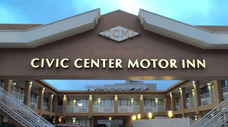Civic Center Motor Inn Exterior
