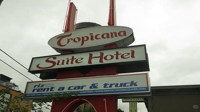 Tropicana Suite on Robson Exterior