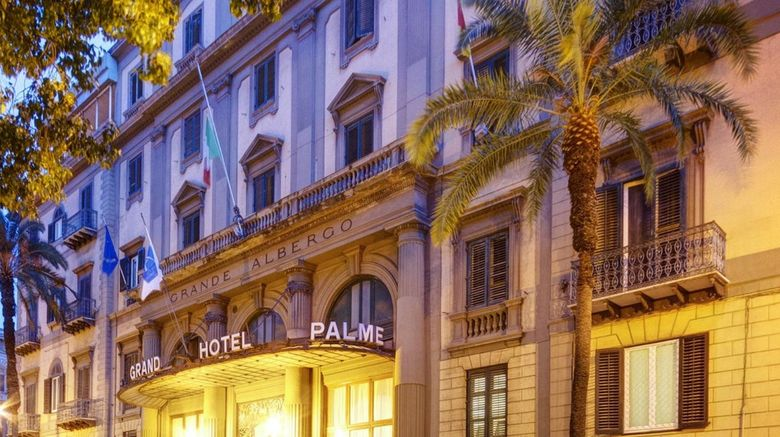 Grand Hotel et Des Palmes Exterior
