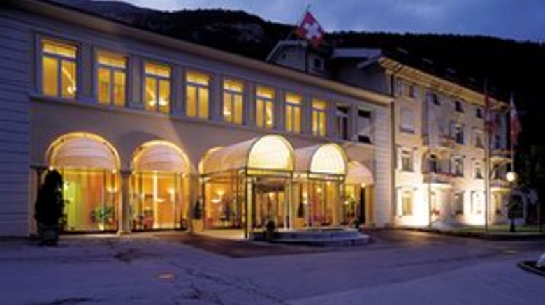 Lindner Hotels  and  Alpentherme Leukerbad Exterior