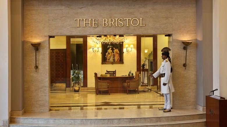 The Bristol Hotel Exterior