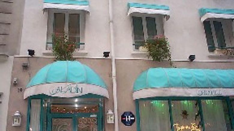 Hotel Aladin, Paris Exterior