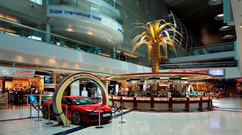 Dubai International Hotel Exterior