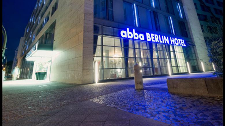 Abba Berlin Hotel Exterior