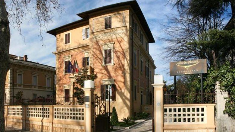 Villa dei Platani Boutique Hotel  and  Spa Exterior