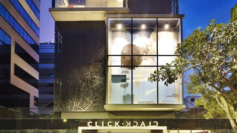 The Click Clack Hotel Exterior