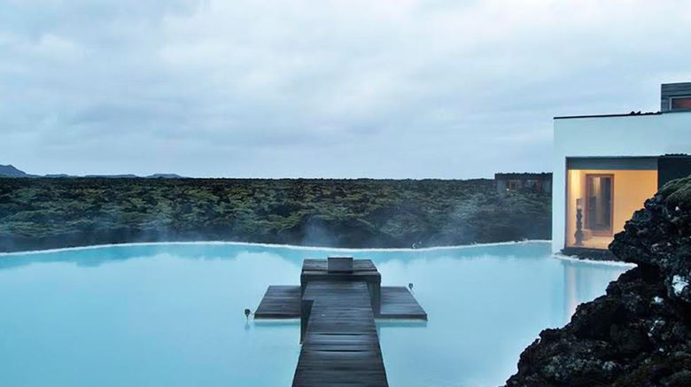Silica Hotel at the Blue Lagoon Exterior
