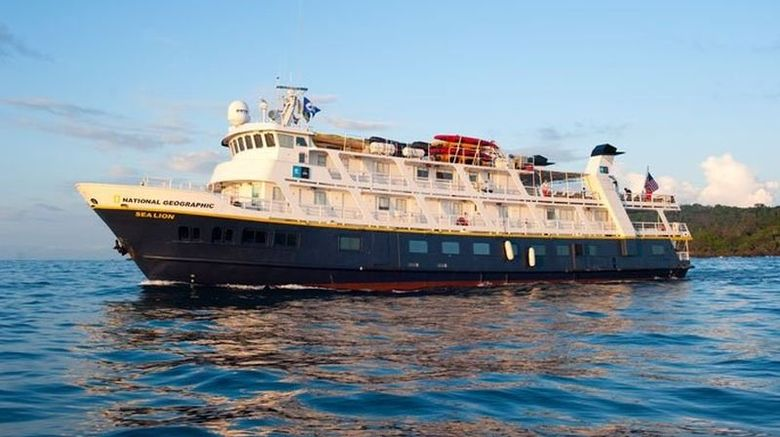 Natl Geographic Sea Lion Exterior