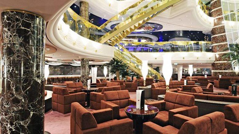 MSC Splendida Lobby