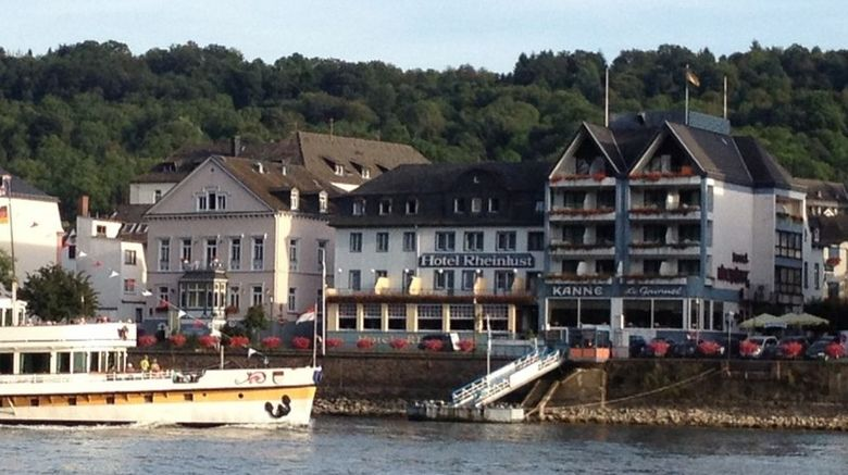 Hotel Rheinlust Exterior