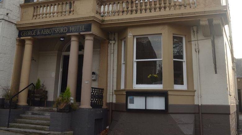 George  and  Abbotsford Hotel Exterior