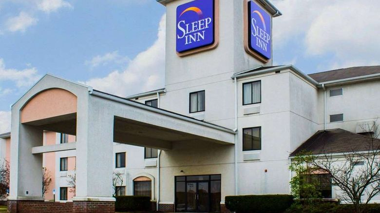 """Sleep Inn Exterior. Images powered by <a href=""""http://web.iceportal.com"""" target=""""_blank"""" rel=""""noopener"""">Ice Portal</a>."""