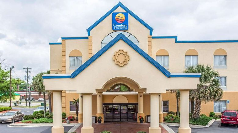 """Comfort Inn  and  Suites Ft Jackson Maingate Exterior. Images powered by <a href=""""http://web.iceportal.com"""" target=""""_blank"""" rel=""""noopener"""">Ice Portal</a>."""