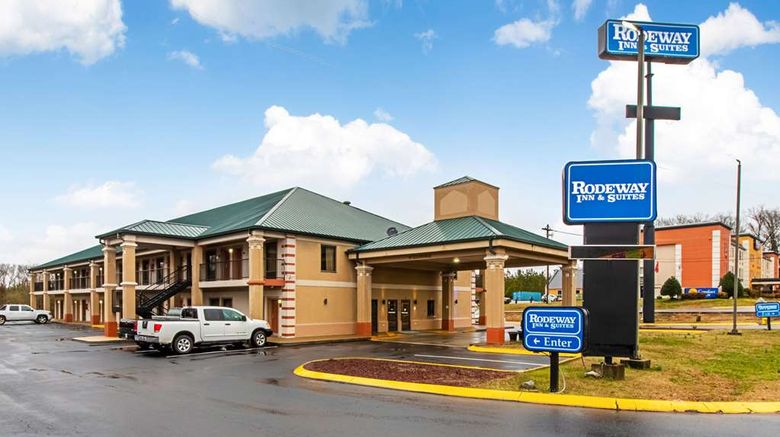 """Rodeway Inn  and  Suites Dickson Exterior. Images powered by <a href=""""http://web.iceportal.com"""" target=""""_blank"""" rel=""""noopener"""">Ice Portal</a>."""