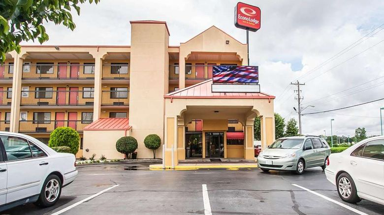 """Econo Lodge Inn  and  Suites Exterior. Images powered by <a href=""""http://web.iceportal.com"""" target=""""_blank"""" rel=""""noopener"""">Ice Portal</a>."""