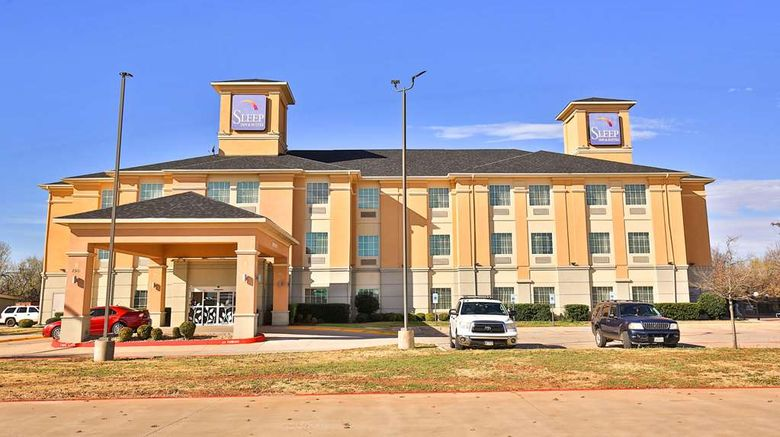 """Sleep Inn  and  Suites University Exterior. Images powered by <a href=""""http://web.iceportal.com"""" target=""""_blank"""" rel=""""noopener"""">Ice Portal</a>."""
