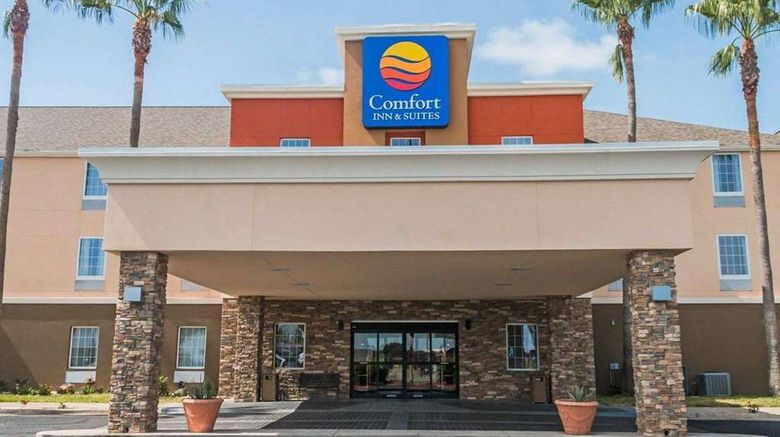 """Comfort Inn  and  Suites, Pharr Exterior. Images powered by <a href=""""http://web.iceportal.com"""" target=""""_blank"""" rel=""""noopener"""">Ice Portal</a>."""