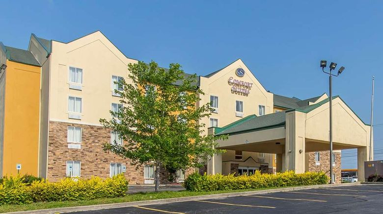 """Comfort Suites Richmond Exterior. Images powered by <a href=""""http://web.iceportal.com"""" target=""""_blank"""" rel=""""noopener"""">Ice Portal</a>."""